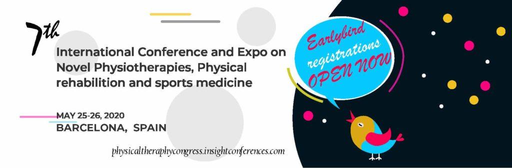 7-я Международная конференция и выставка по новым методам физиотерапии (Испания),07-08 сентября 2020 г.